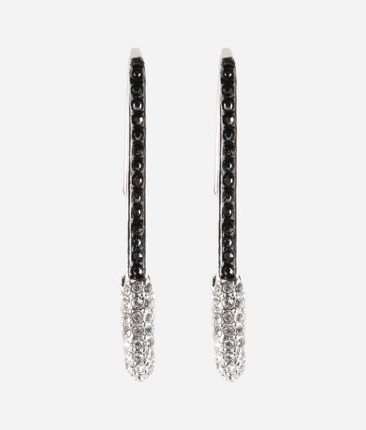 KARL LAGERFELD Earrings Safety Pin 12_f