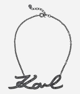 KARL LAGERFELD NECKLACE KARL SIGNATURE DRAMA
