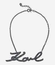 KARL LAGERFELD Collier Karl Signature Drama Collier Femme f