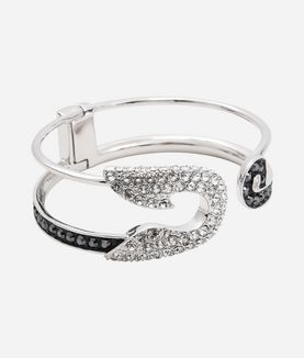 KARL LAGERFELD SAFETY PIN HINGE CUFF