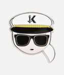 KARL LAGERFELD Captain Karl Pins 8_r