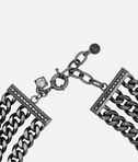 KARL LAGERFELD Necklace 3 Row Chain 8_d