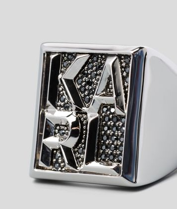 KARL LAGERFELD BAGUE KARL BLOCK