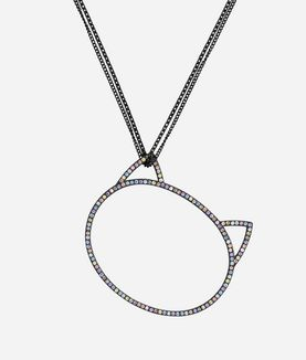 KARL LAGERFELD NECKLACE BIG CHOUPETTE