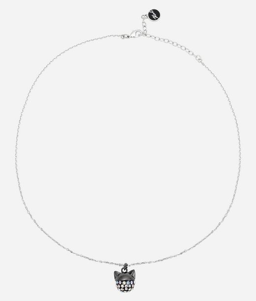 KARL LAGERFELD Necklace Cry Choupette Rainbow 12_f