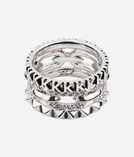 KARL LAGERFELD Bague empilée 9_f