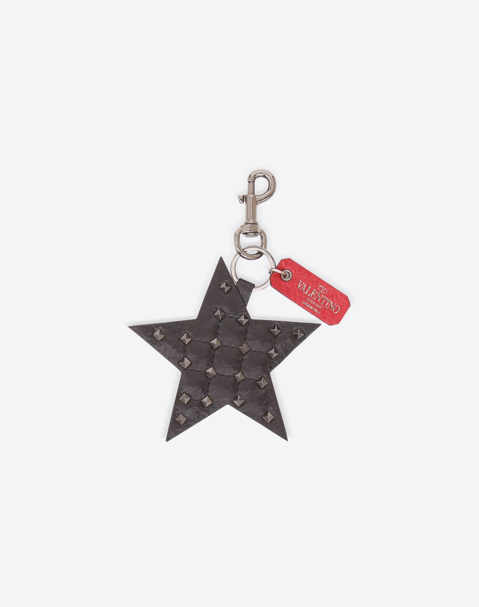 VALENTINO Rockstud Spike Star Keyring CHARMS D f