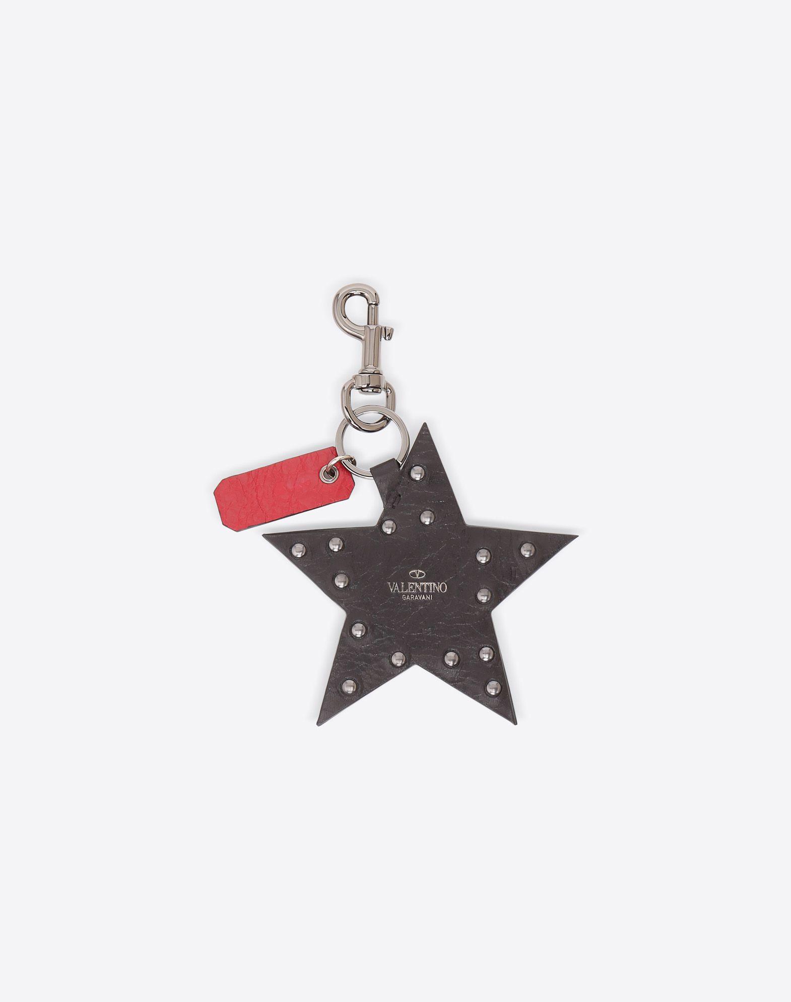 VALENTINO Rockstud Spike Star Keyring CHARMS D r