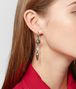 BOTTEGA VENETA NATURAL ANTIQUE SILVER STELLULAR EARRINGS Earrings Woman ap