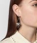 BOTTEGA VENETA NATURAL ANTIQUE SILVER STELLULAR EARRINGS Earrings Woman ap