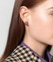 BOTTEGA VENETA NATURAL ANTIQUE SILVER STELLULAR STUD EARRINGS Earrings Woman ap