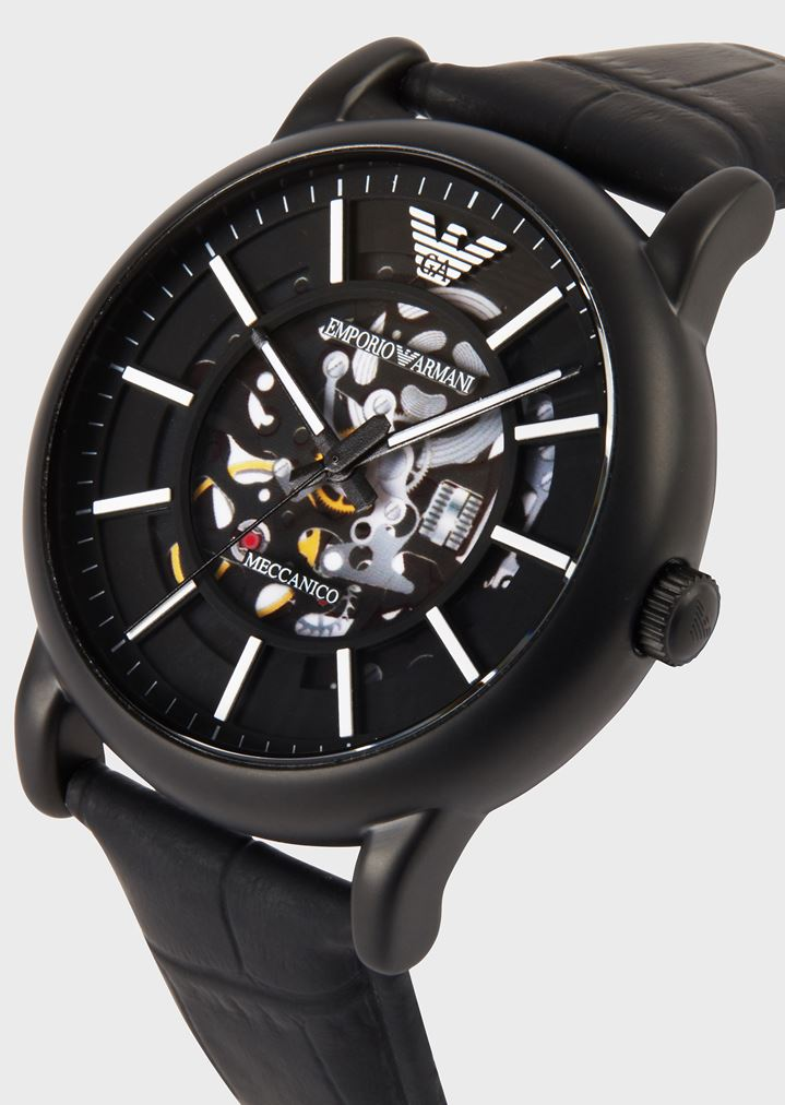 002c8aaf0d Leather Strap Watch