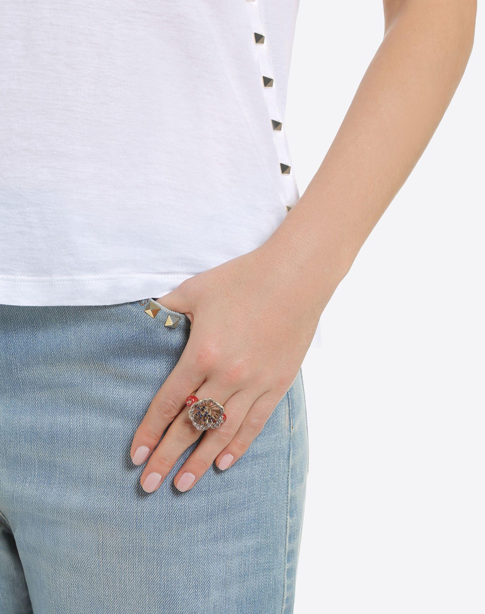 VALENTINO GARAVANI Bird Ring Ring D a