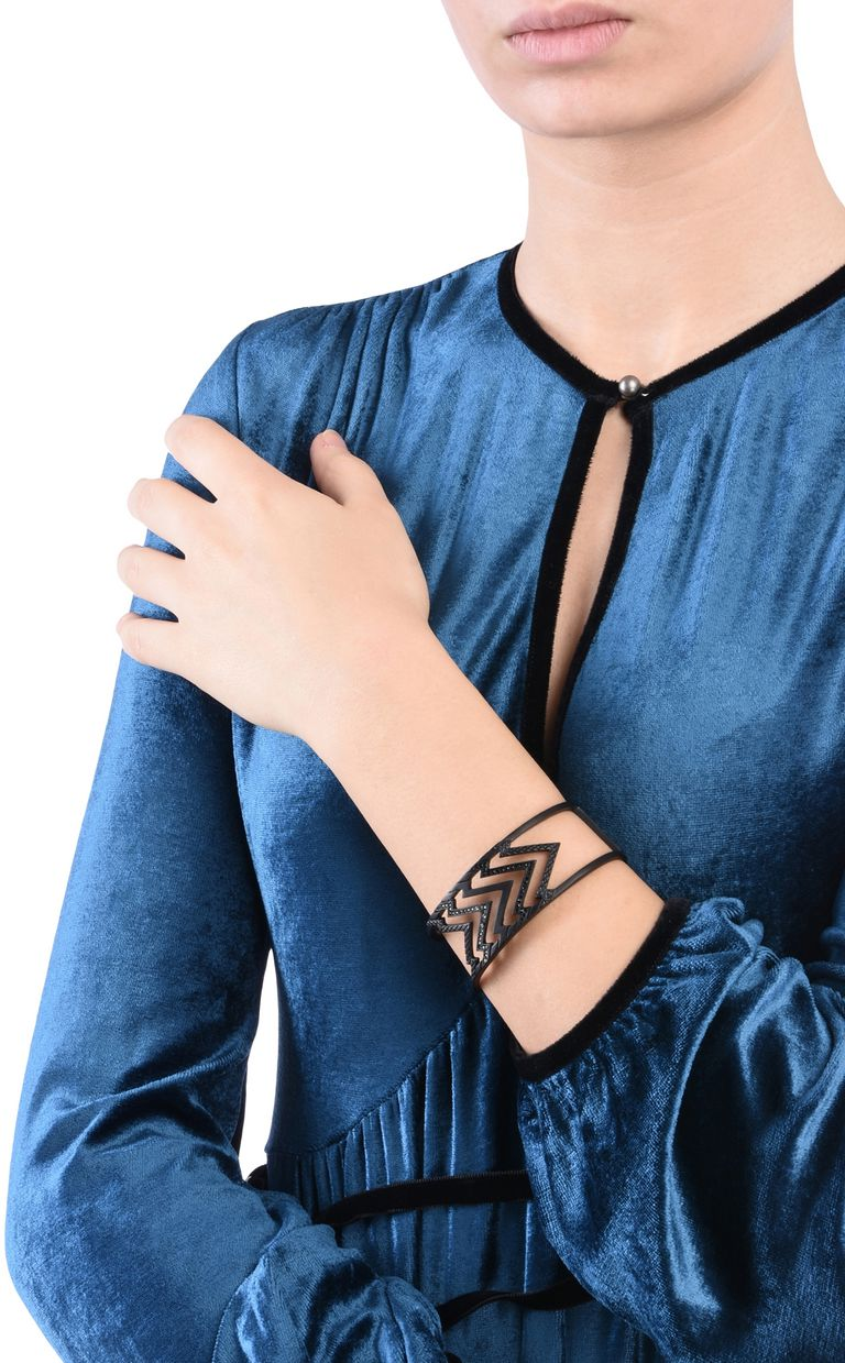 JUST CAVALLI GLAM-CHIC theme cuff Bracelet Woman r