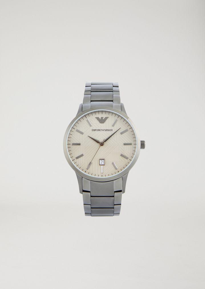 Freiraum suchen Qualität beste Wahl Stainless steel watch 11120 | Man | Emporio Armani