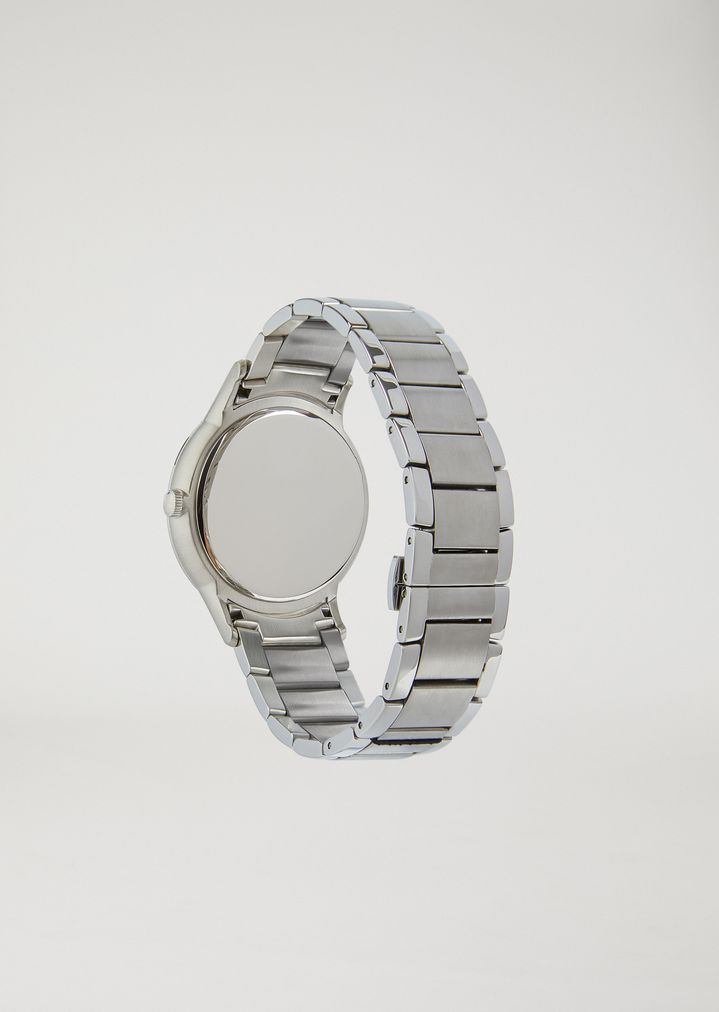 EMPORIO ARMANI Stainless steel watch 11118 Steel Strap Watch Man d