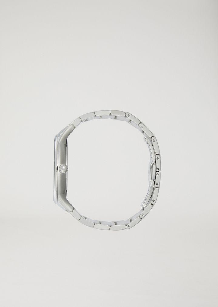 EMPORIO ARMANI Stainless steel watch 11118 Steel Strap Watch Man e