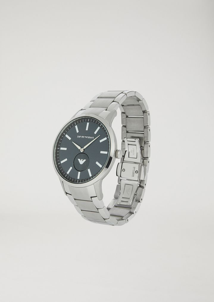 EMPORIO ARMANI Stainless steel watch 11118 Steel Strap Watch Man r