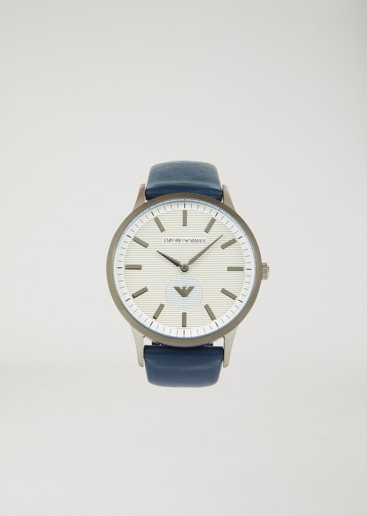40b13ee84 Stainless steel watch 11119 | Man | Emporio Armani
