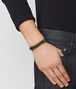 BOTTEGA VENETA FOREST LEATHER/OXIDIZED SILVER BRACELET Bracelet Man ap