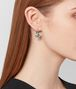 BOTTEGA VENETA CHAMOMILE CUBIC ZIRCONIA/OXIDIZED SILVER EARRINGS Earrings Woman ap
