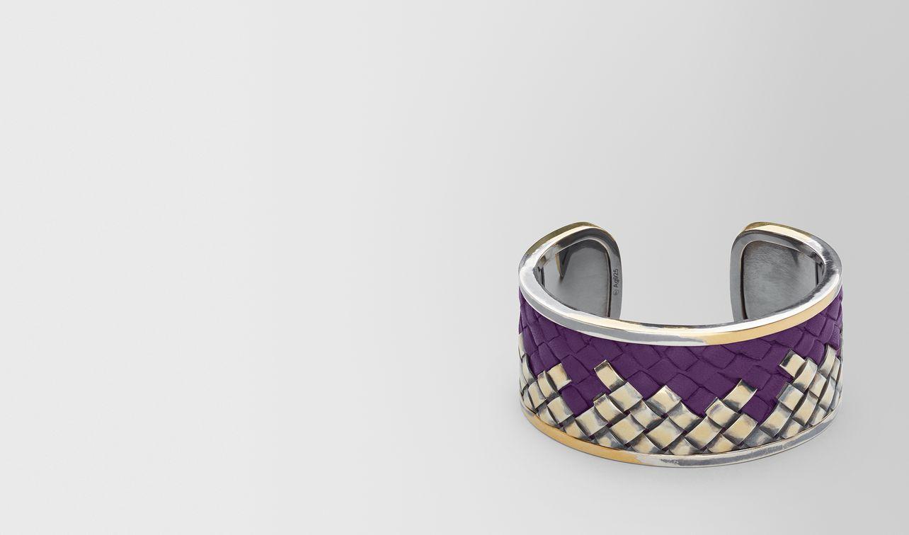 monalisa oxidized silver/leather bracelet landing
