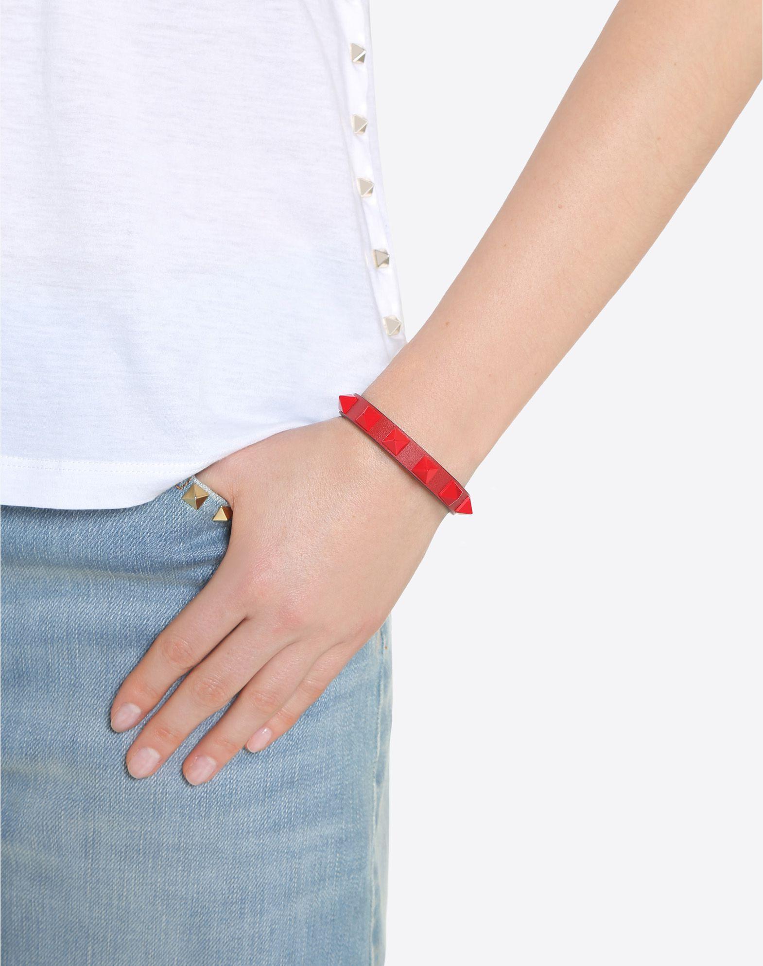 VALENTINO GARAVANI Rockstud Bracelet Bracelet D a