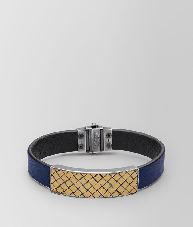 BOTTEGA VENETA ATLANTIC LEATHER/ANTIQUE SILVER BRACELET Bracelet [*** pickupInStoreShippingNotGuaranteed_info ***] fp