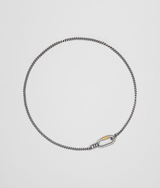 复古银白色/金黄色复古质感项链