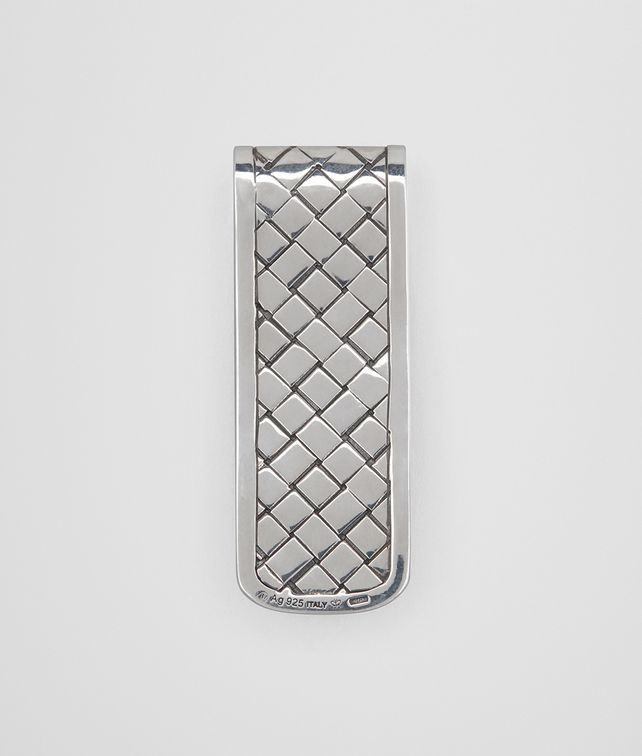 BOTTEGA VENETA NATURAL CHALCOPYRITE/ANTIQUE SILVER MONEY CLIP Other Jewellery [*** pickupInStoreShippingNotGuaranteed_info ***] fp