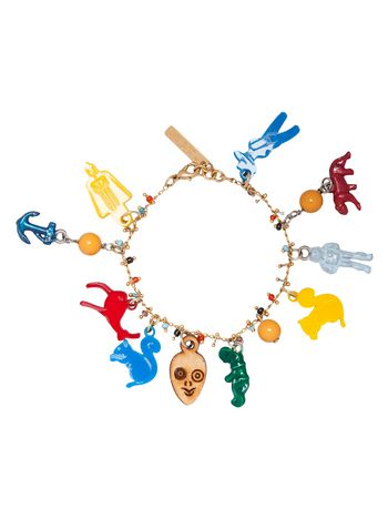 Marni Metal bracelet with charms by Frank Navin Woman