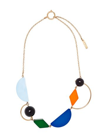 Marni Necklace in metal and resin Woman