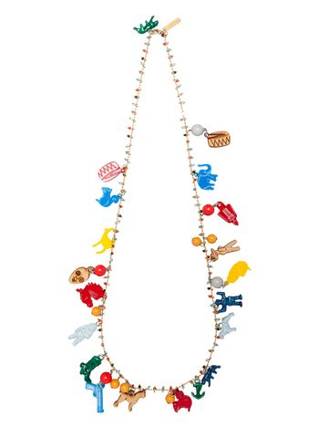 Marni Metal necklace charms by Frank Navin Woman