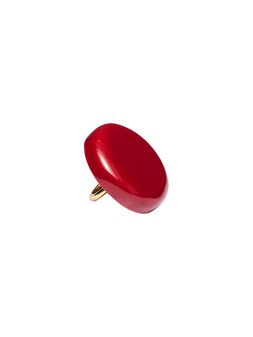 Marni Red resin ring Woman