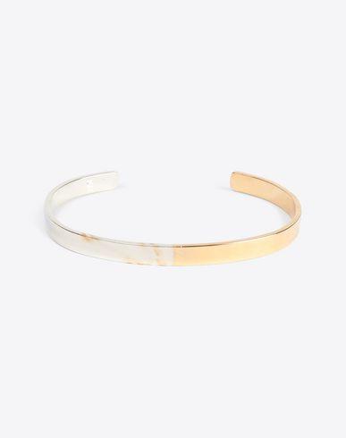 MAISON MARGIELA Bracelet Man Silver logo bracelet f
