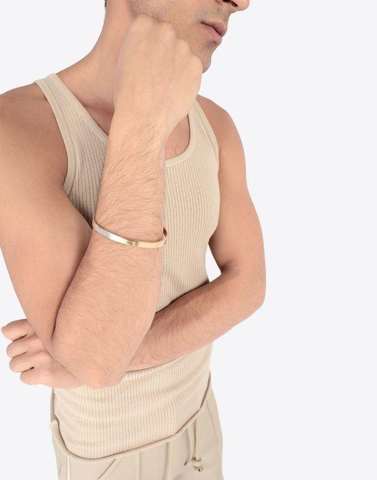MAISON MARGIELA Silver logo bracelet Bracelet [*** pickupInStoreShippingNotGuaranteed_info ***] b
