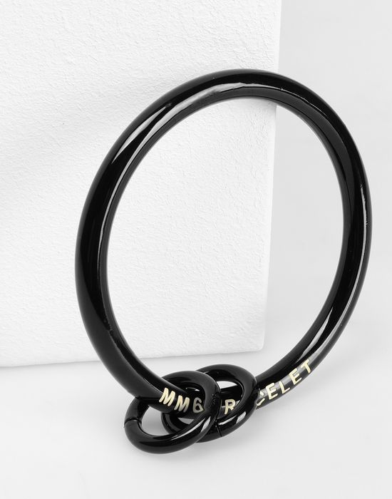 MM6 MAISON MARGIELA Black links bracelet Bracelet [*** pickupInStoreShipping_info ***] d