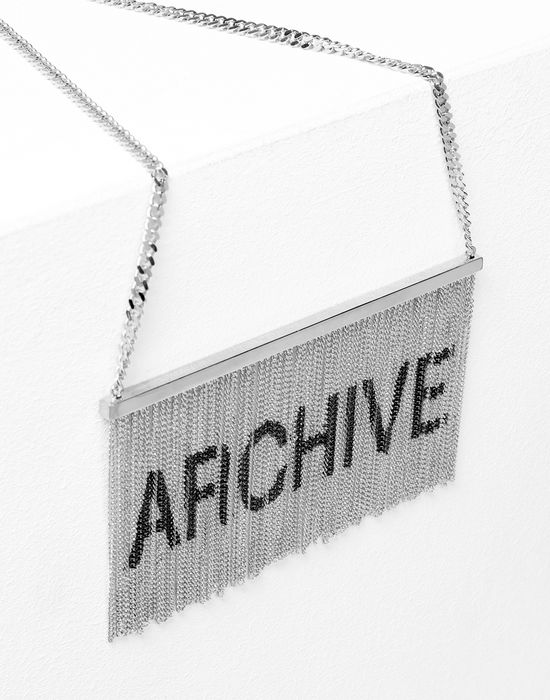 MM6 MAISON MARGIELA Printed chains necklace Necklace [*** pickupInStoreShipping_info ***] d