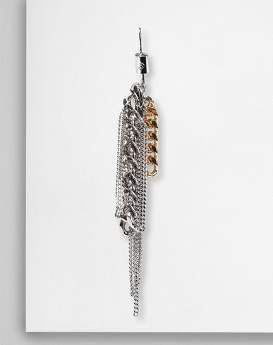 MM6 MAISON MARGIELA Earrings Woman Contrasting chains earrings f