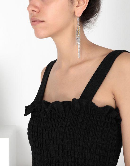 MM6 MAISON MARGIELA Contrasting chains earrings Earrings [*** pickupInStoreShipping_info ***] b