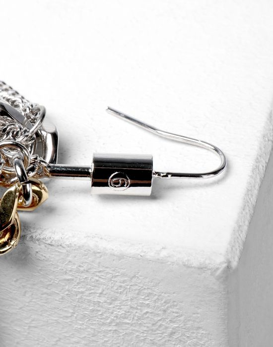 MM6 MAISON MARGIELA Contrasting chains earrings Earrings [*** pickupInStoreShipping_info ***] d