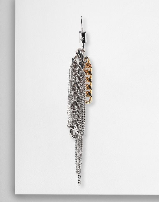 MM6 MAISON MARGIELA Contrasting chains earrings Earrings [*** pickupInStoreShipping_info ***] f