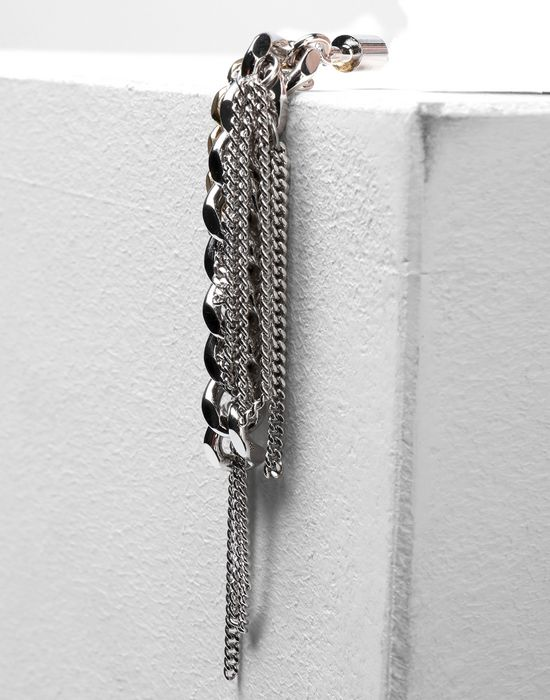 MM6 MAISON MARGIELA Contrasting chains earrings Earrings [*** pickupInStoreShipping_info ***] r