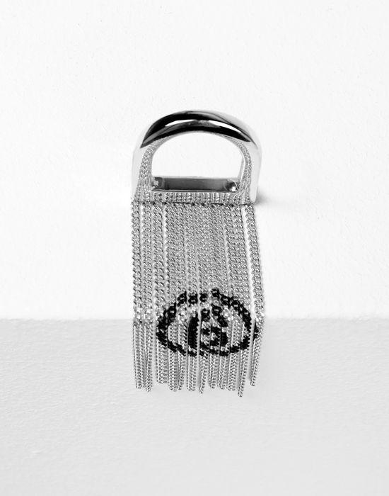 MM6 MAISON MARGIELA Printed chains ring Ring [*** pickupInStoreShipping_info ***] d