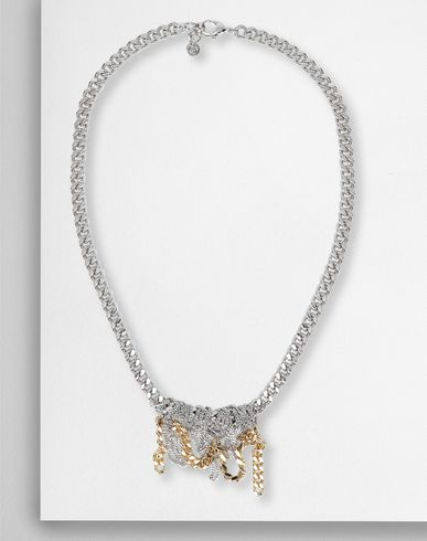 MM6 MAISON MARGIELA Necklace Woman Necklace with contrasting chains f