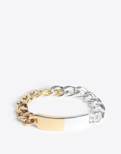 MAISON MARGIELA Bracelet Man Two-tone anonymous bracelet f