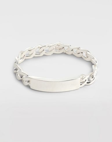 JEWELLERY Anonymous ID bracelet Silver