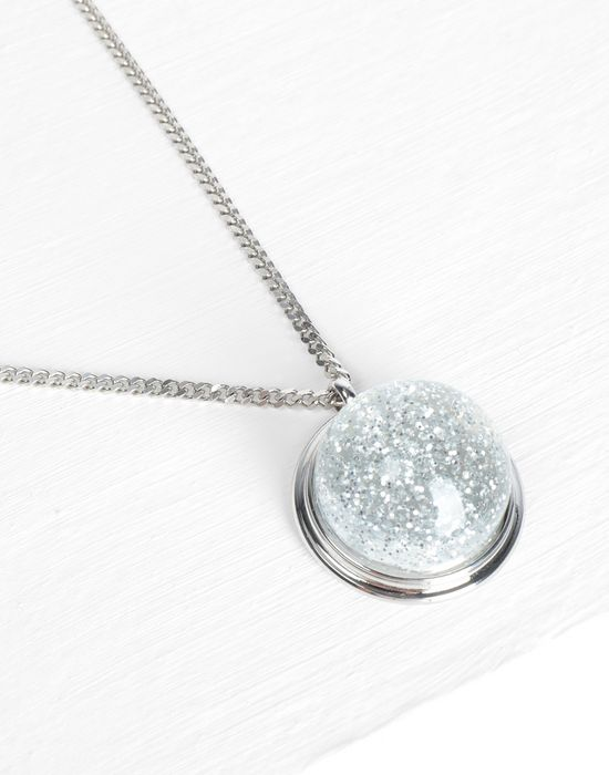 MM6 MAISON MARGIELA Snow globe pendant necklance Necklace [*** pickupInStoreShipping_info ***] d
