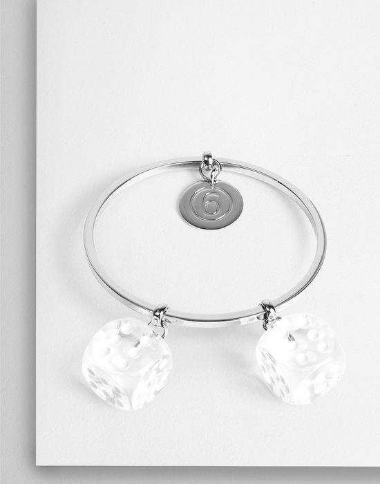 MM6 MAISON MARGIELA 6 Dice Group' charm bracelet Bracelet [*** pickupInStoreShipping_info ***] f
