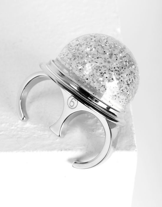 MM6 MAISON MARGIELA Snow globe ring Ring [*** pickupInStoreShipping_info ***] d